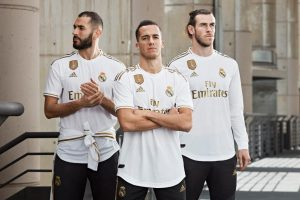 Camisetas del Real Madrid